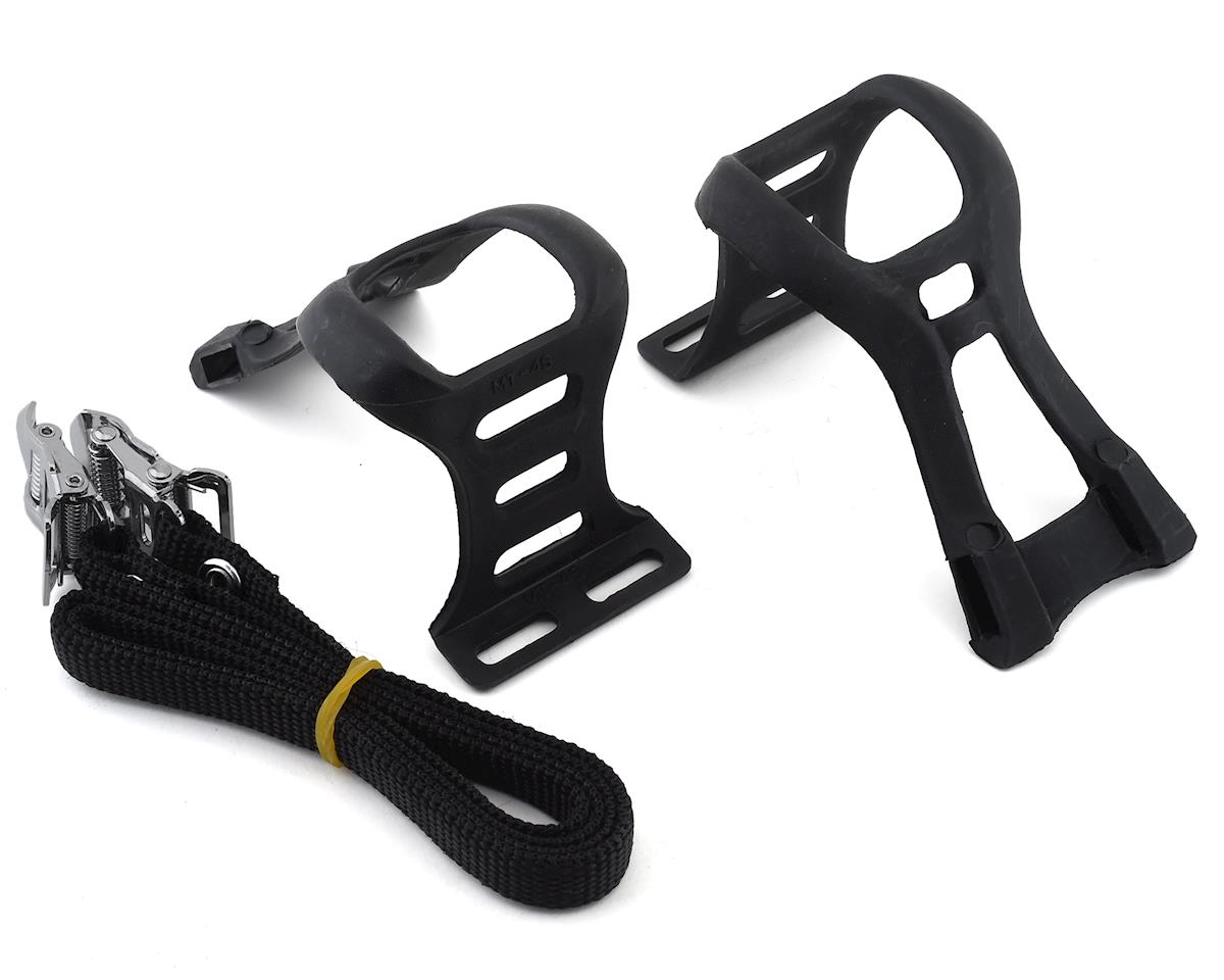 Dimension Toe Clip & Strap Set (Black) (S)