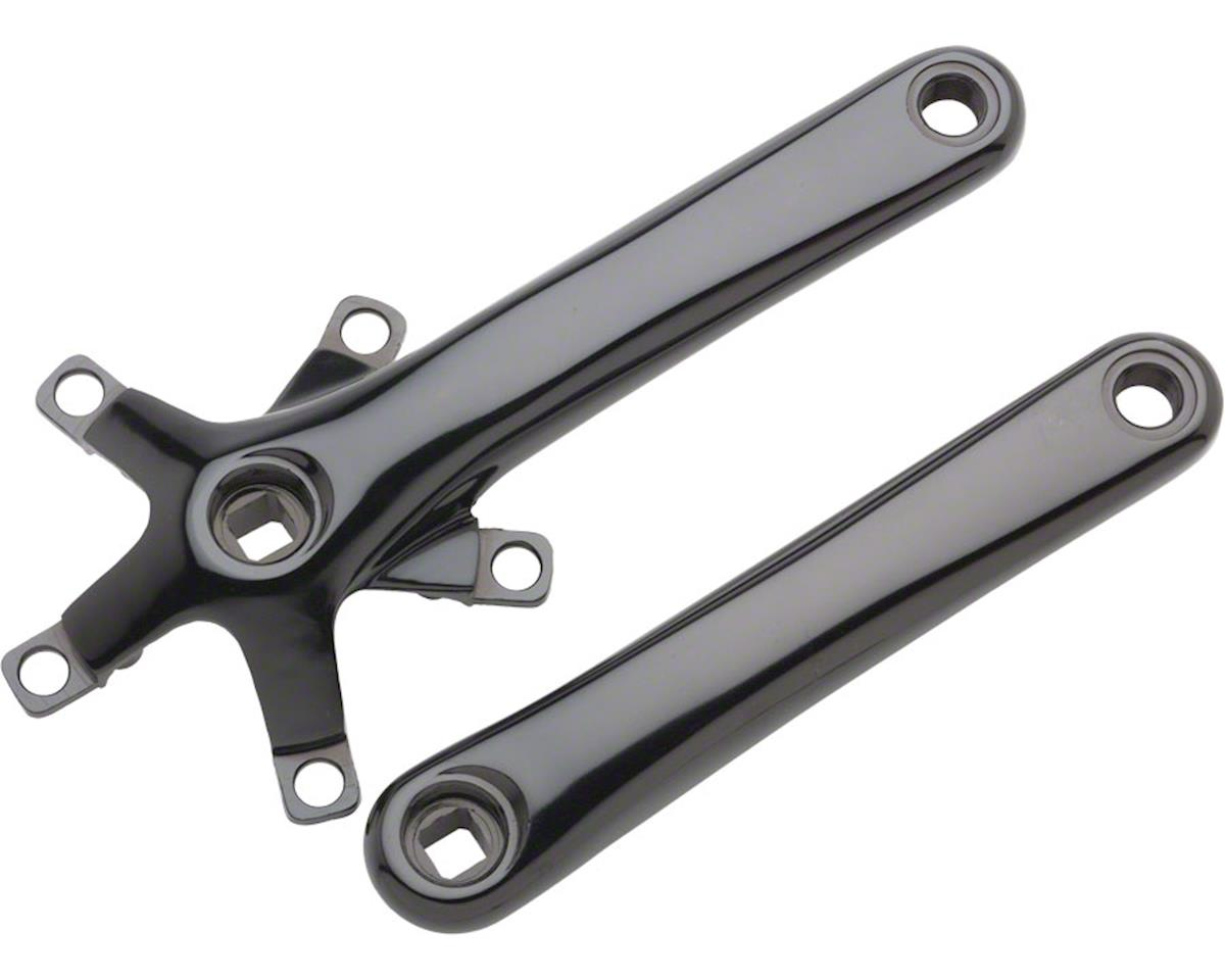 Dimension 110 Crank Arm Set w/ Bolts (Black) (110/74BCD)