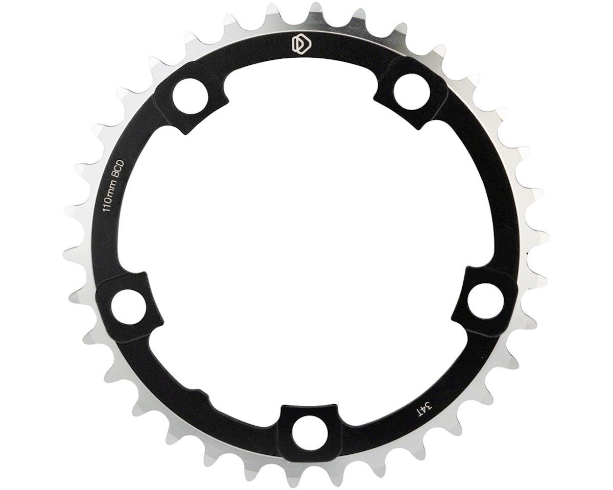 Dimension Multi Speed Middle Chainring (Black) (110mm BCD) (34T)