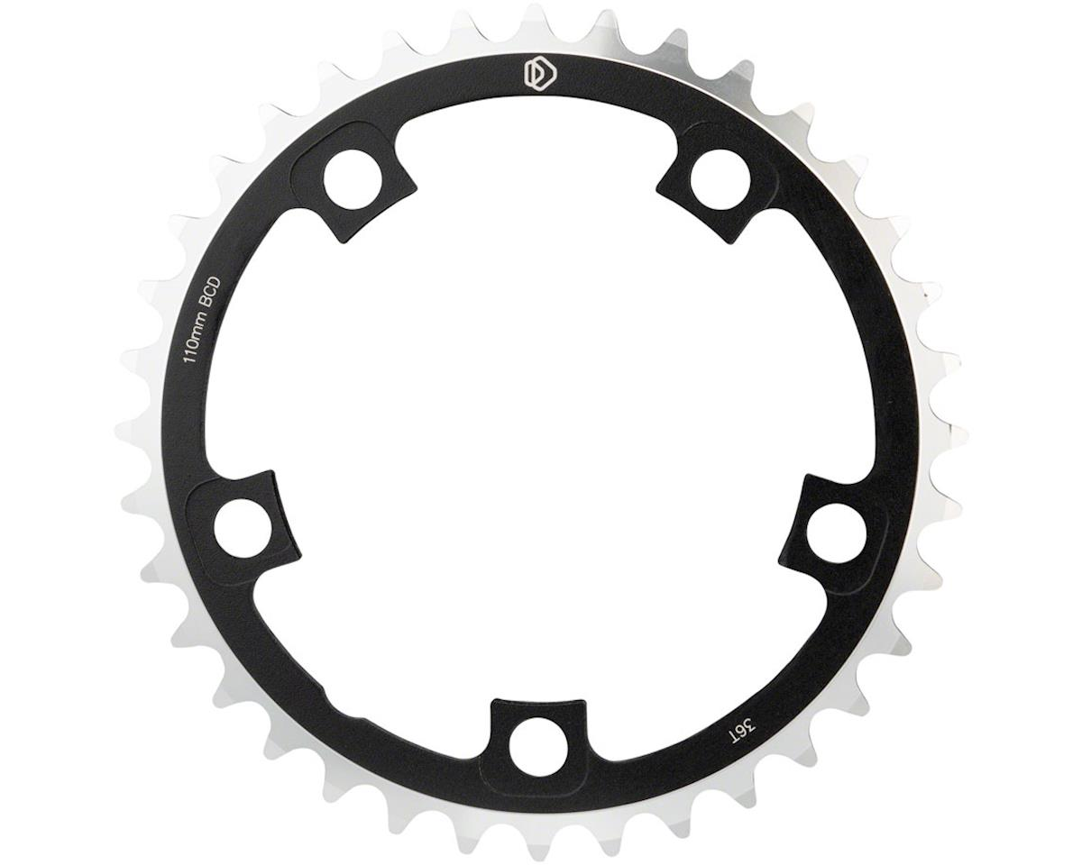 Dimension Multi Speed Middle Chainring (Black) (110mm BCD) (36T)