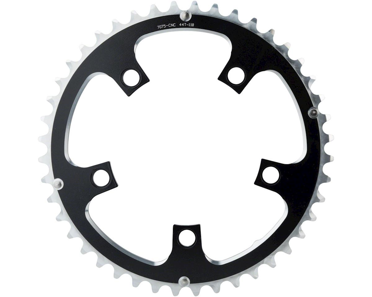 Image 2 for Dimension Multi Speed Outer Chainring (Black) (110mm BCD) (44T)