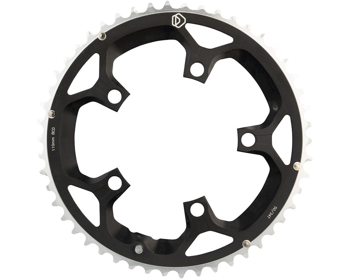 Dimension Multi Speed Outer Chainring (Black) (110mm BCD) (50T)