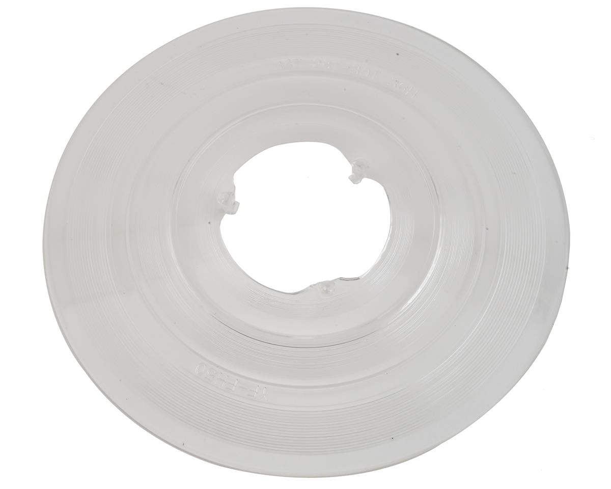 Freehub Spoke Protector 30-34 Tooth 3 Hook 36 Hole Clear Plastic