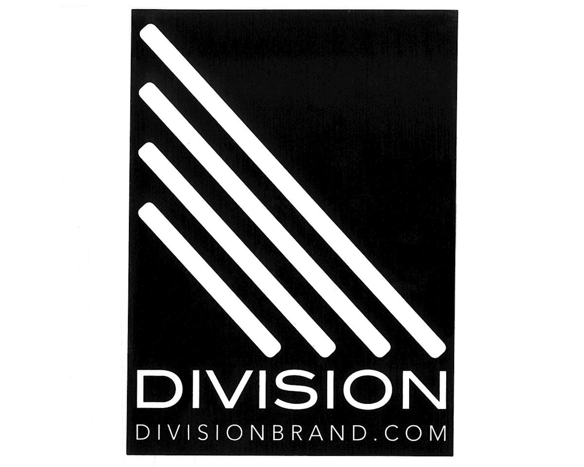 Division Larger Sticker (Black/White)