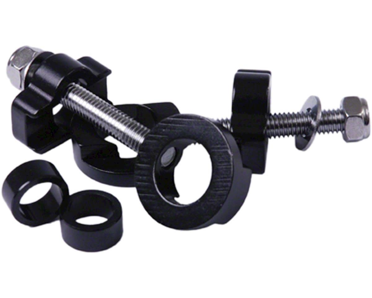 Chain Tugs Chain Tensioner, 14mm with 10mm Adaptor Black Pair
