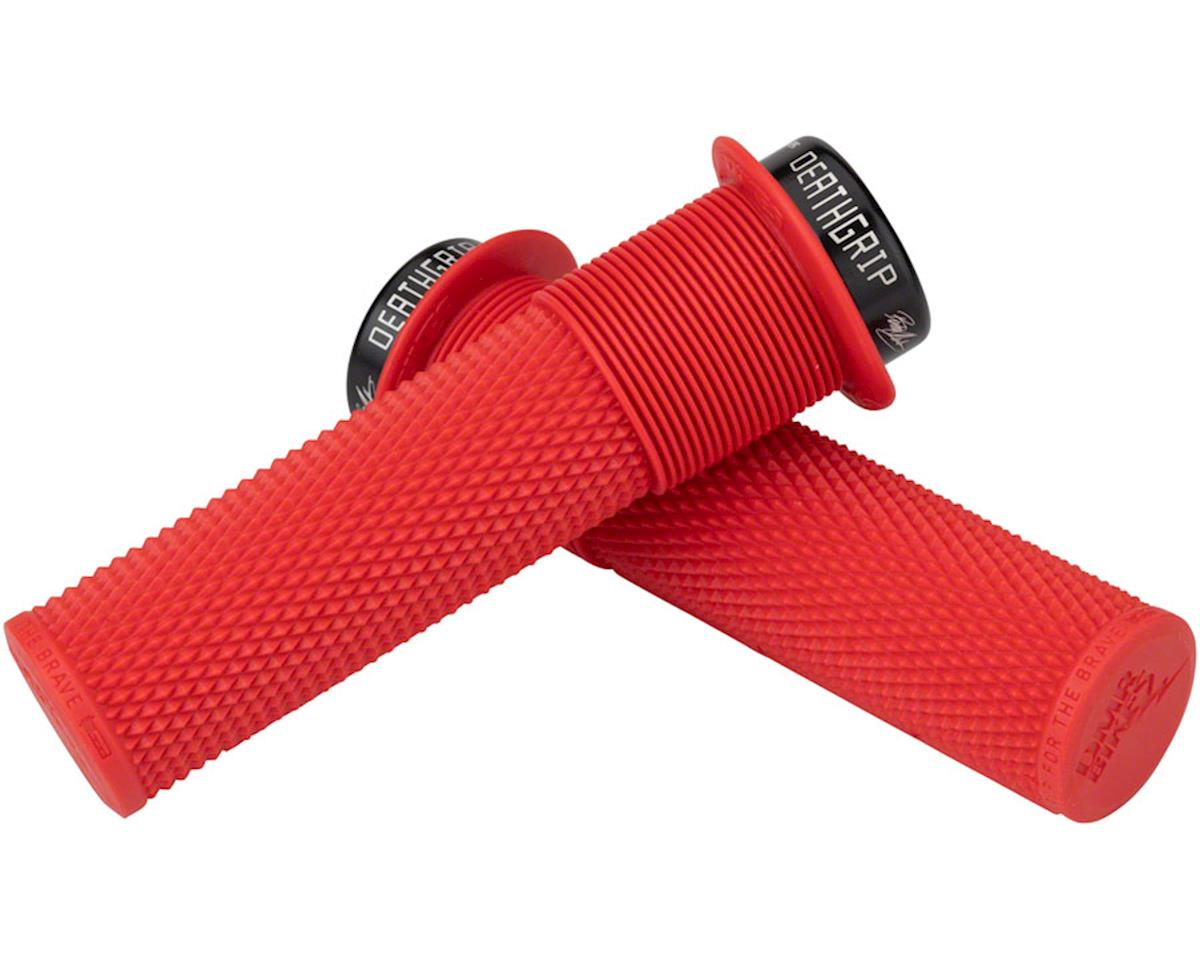DMR Brendog Flanged DeathGrip, thick - red