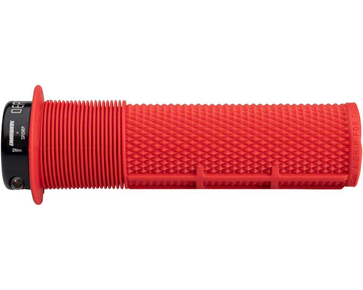 DMR Brendog Flanged DeathGrip, thick - red