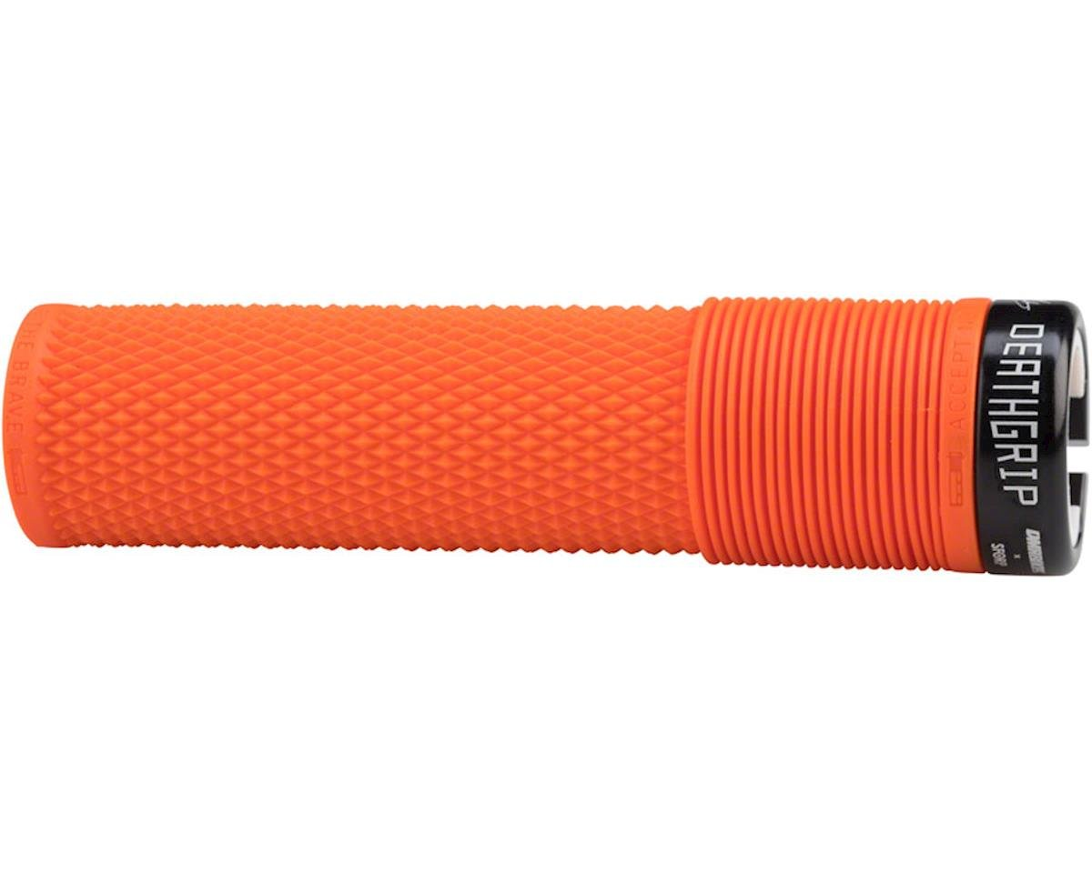 DMR Brendog Death Grip: Flangeless, Lock-On, Thick, Orange
