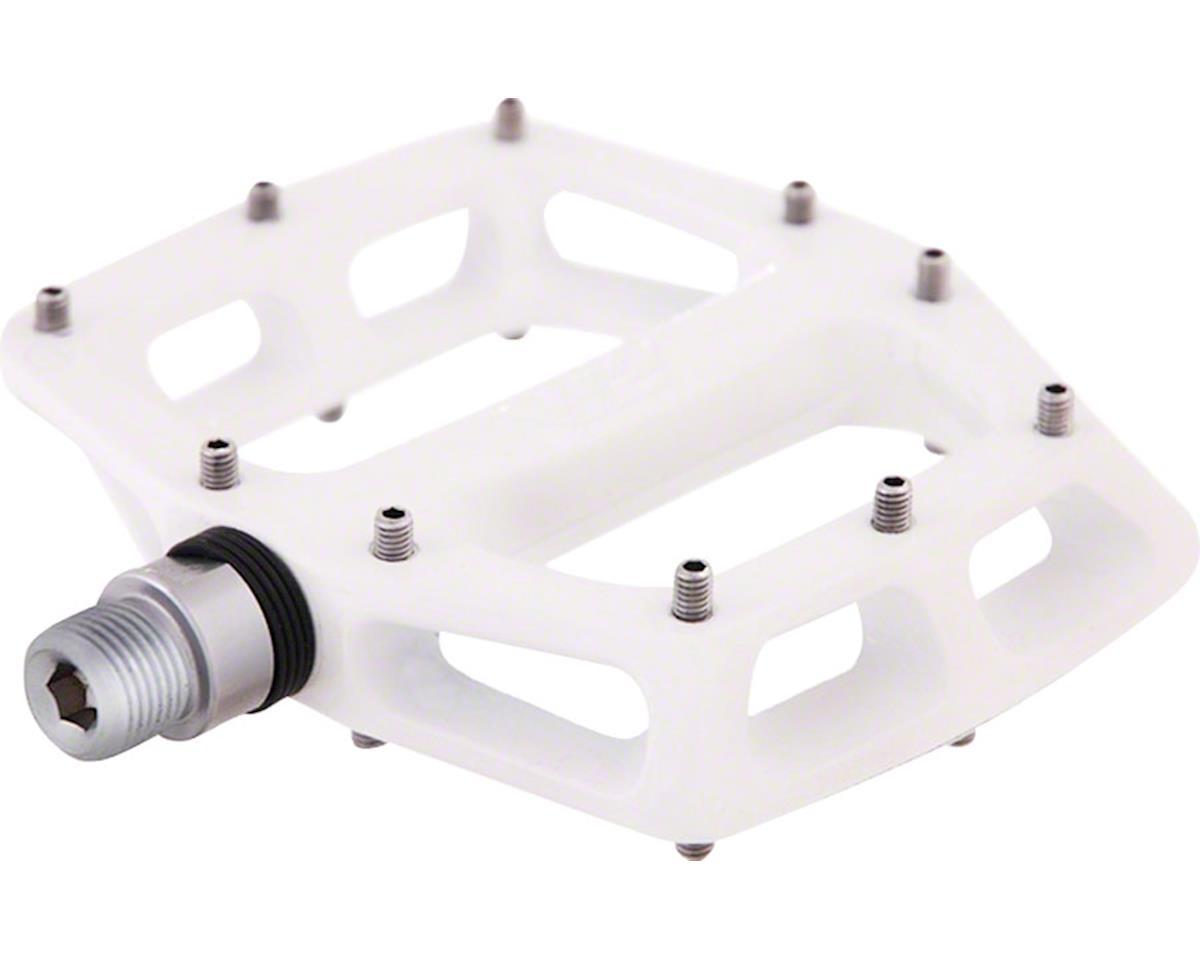 """V12 Pedals, 9/16"""" Magnesium Platform White"""