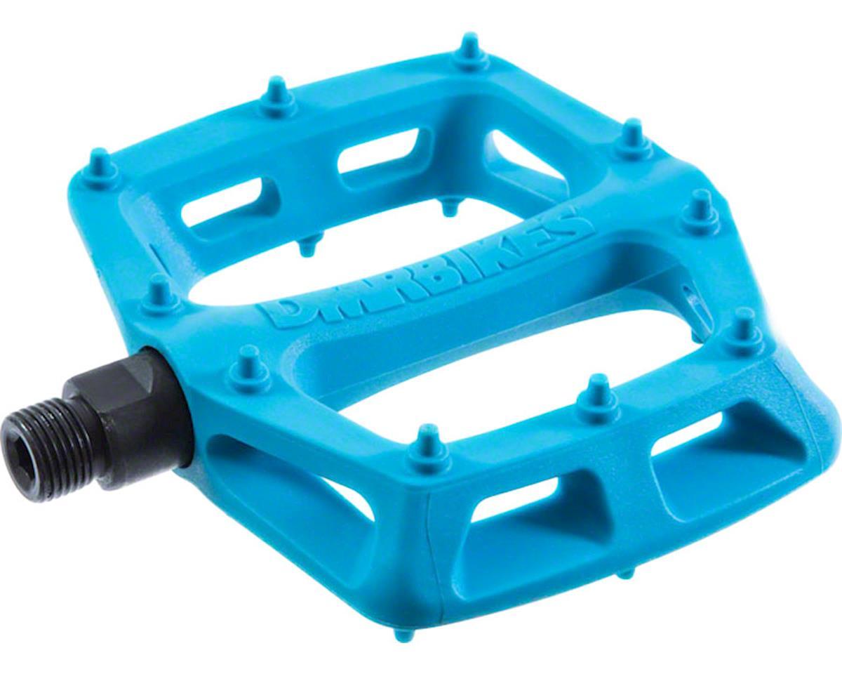 """DMR V6 Pedals, 9/16"""" Plastic Platform Blue"""