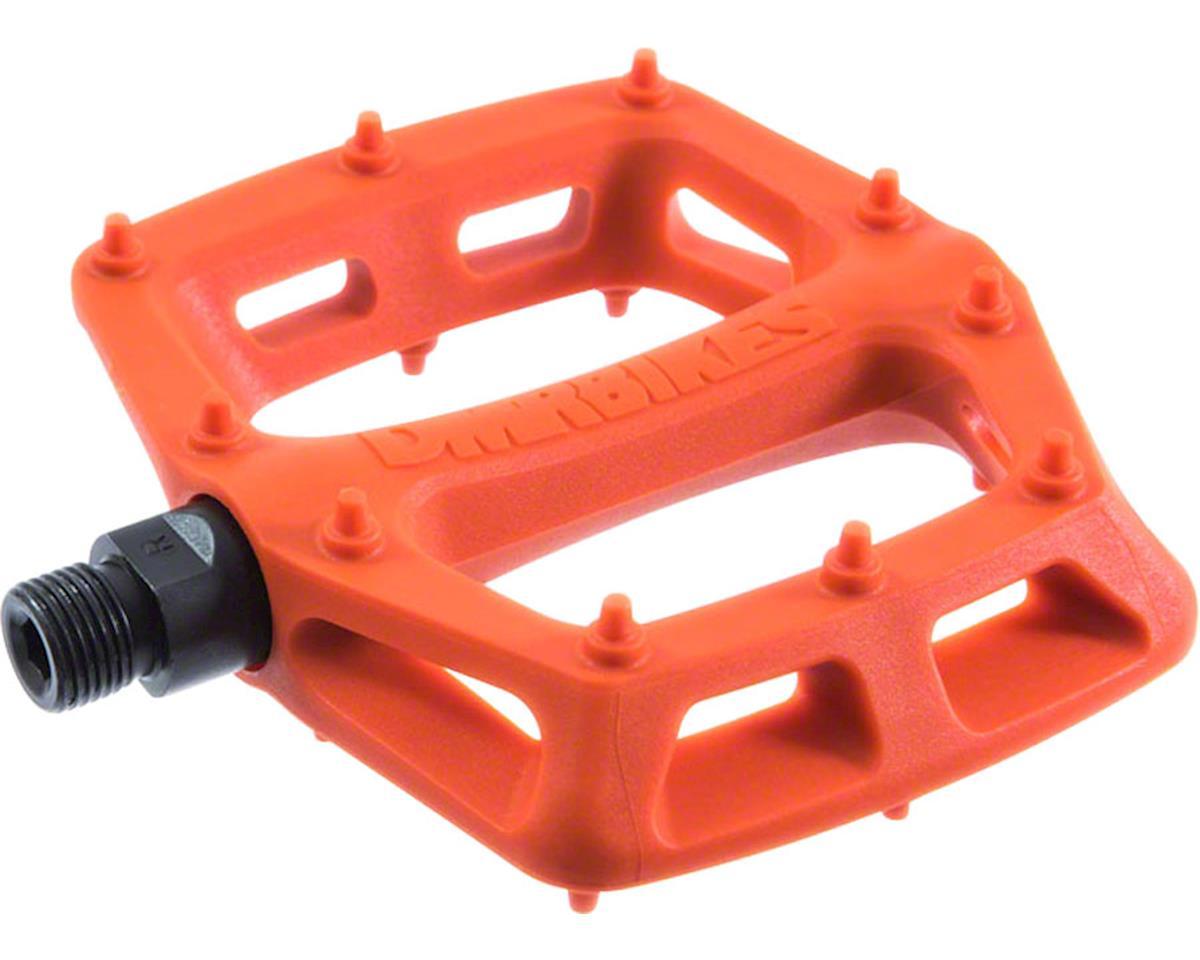 """DMR V6 Pedals, 9/16"""" Plastic Platform Orange"""