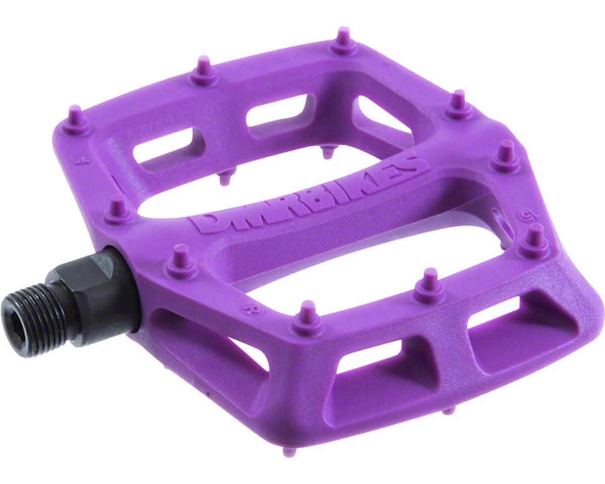 """DMR V6 Pedals, 9/16"""" Plastic Platform Purple"""