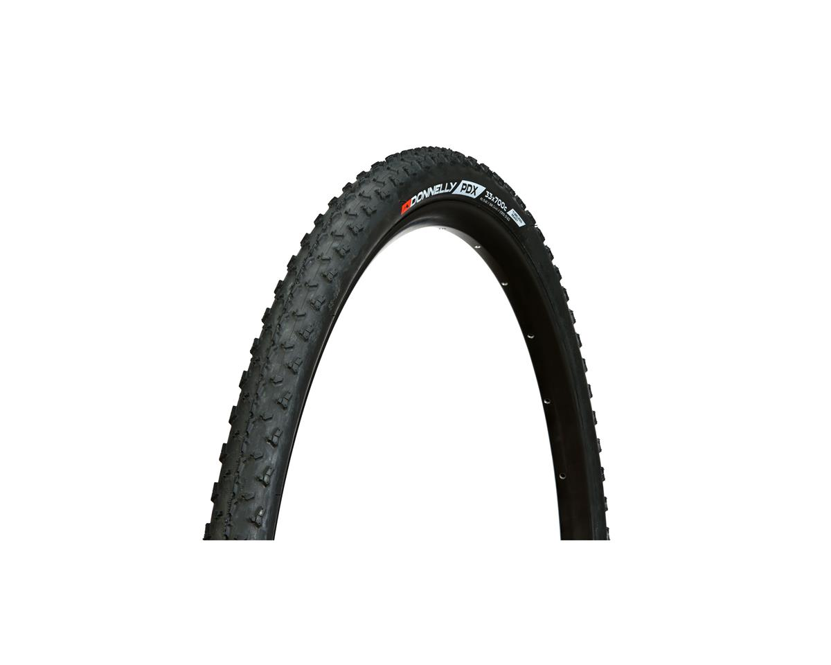 Donnelly PDX Tubeless Ready Tire: 700 x 33mm, Black