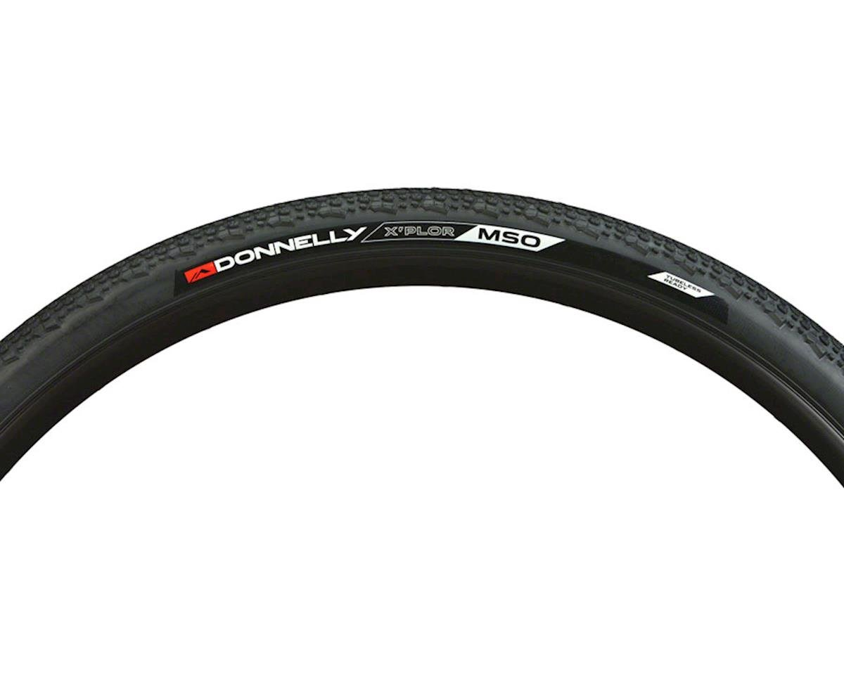 Donnelly Sports Donnelly X'Plor MSO Tire, 700x50mm, Tubeless, Folding, Black