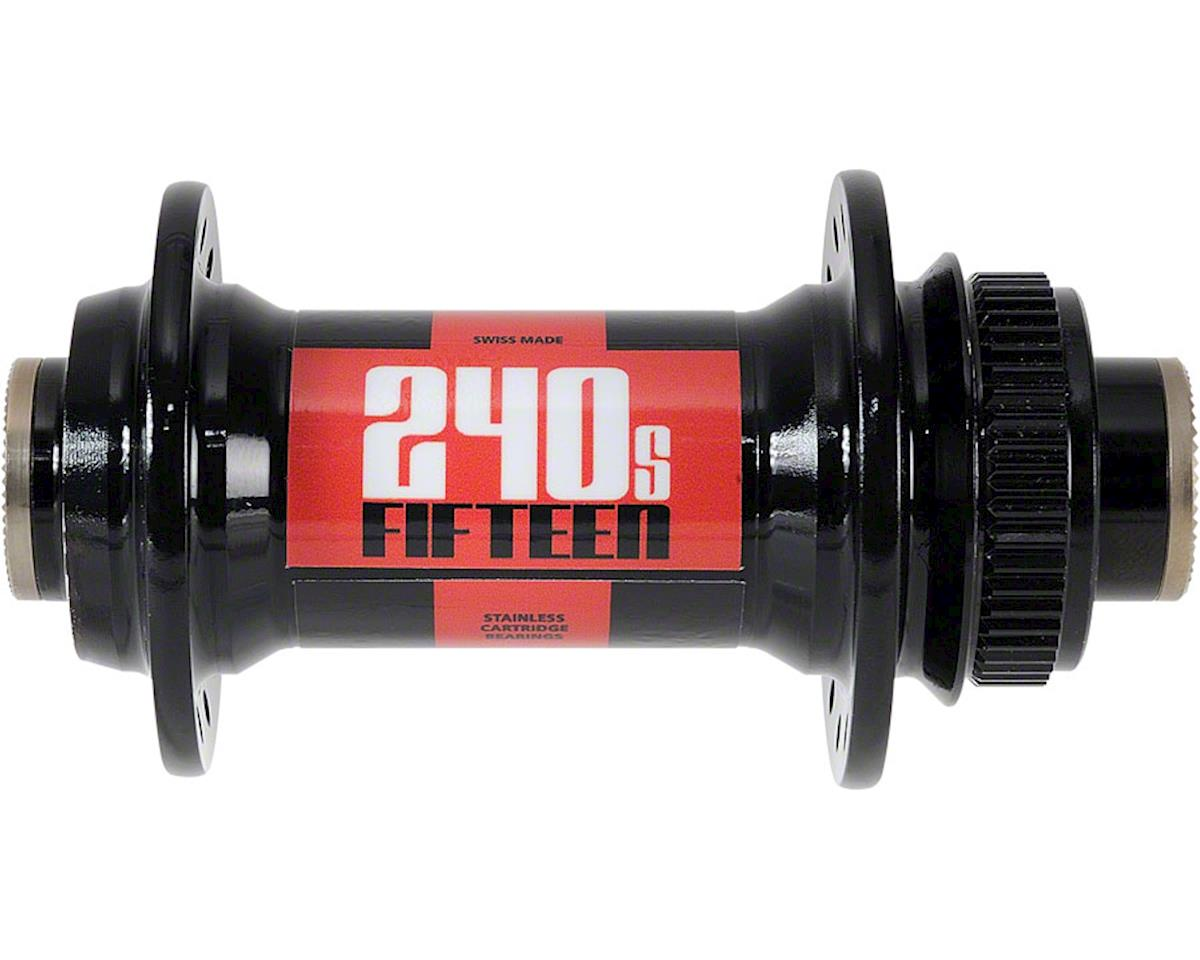 240S Front Hub: 32h, 15mm Thru Axle, Center Lock Disc, Includes 12mm an