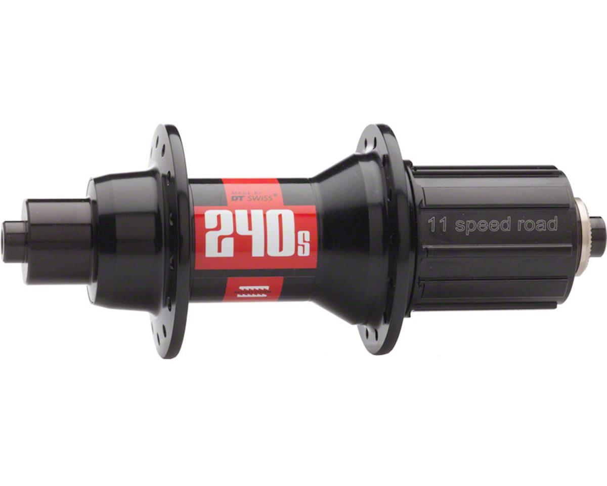 DT Swiss 240S Rear Hub: 24h, 130mm QR, 11-speed