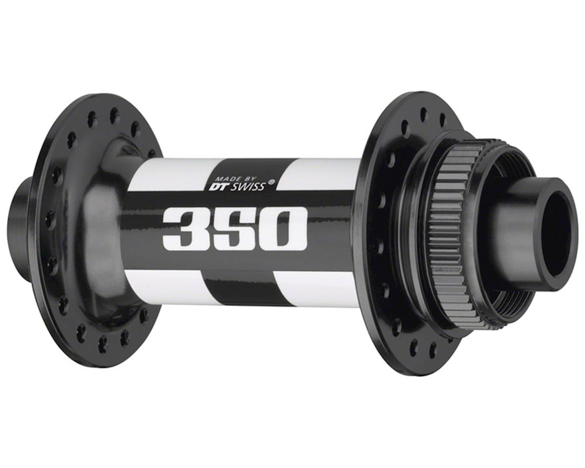 DT Swiss 350 Front Hub: 32h, 15 x 110mm Thru Axle, Boost spacing, Center Lock Di