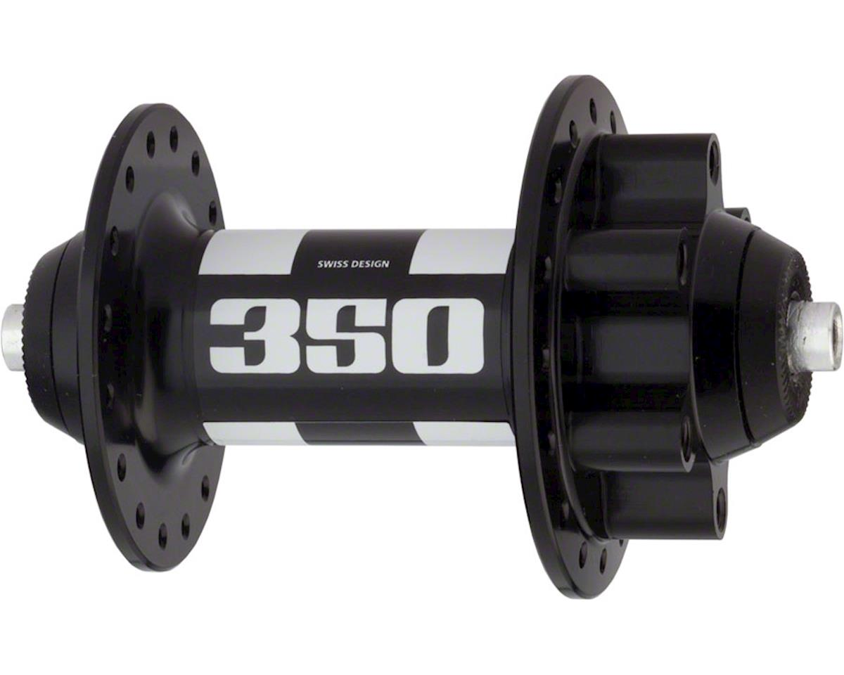 DT Swiss 350 32 Hole Front Hub (Black) (QR) (6-Bolt)