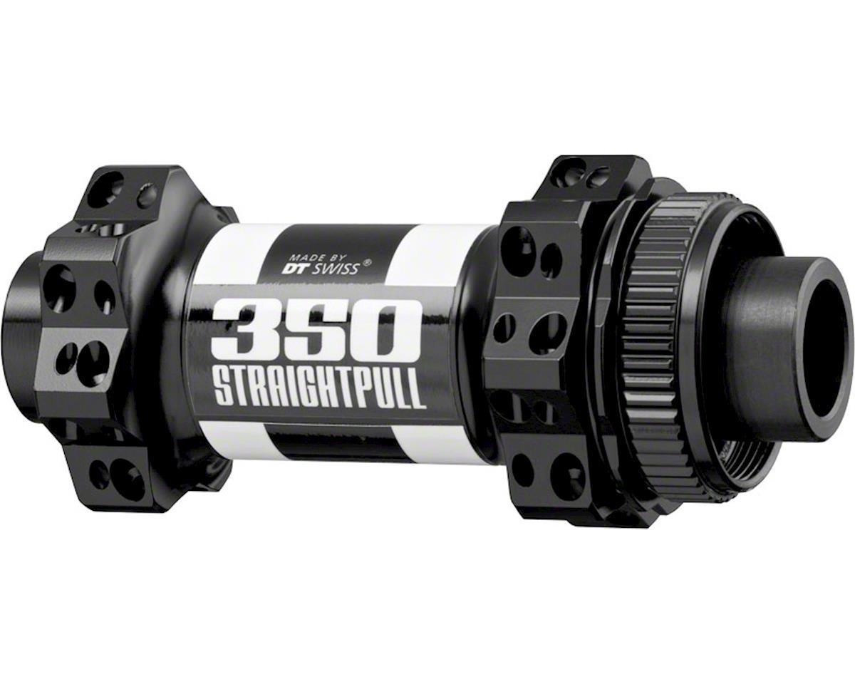 DT Swiss 350 Front Hub: 28h, Straight Pull Spokes, 15 x 110mm Thru Axle,  Boost s