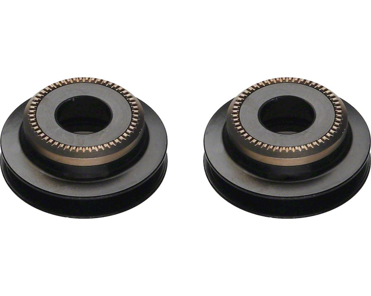 DT Swiss 5mm QR to 9mm Thru Bolt conversion end caps for pre-2010 6-bolt 240 fro