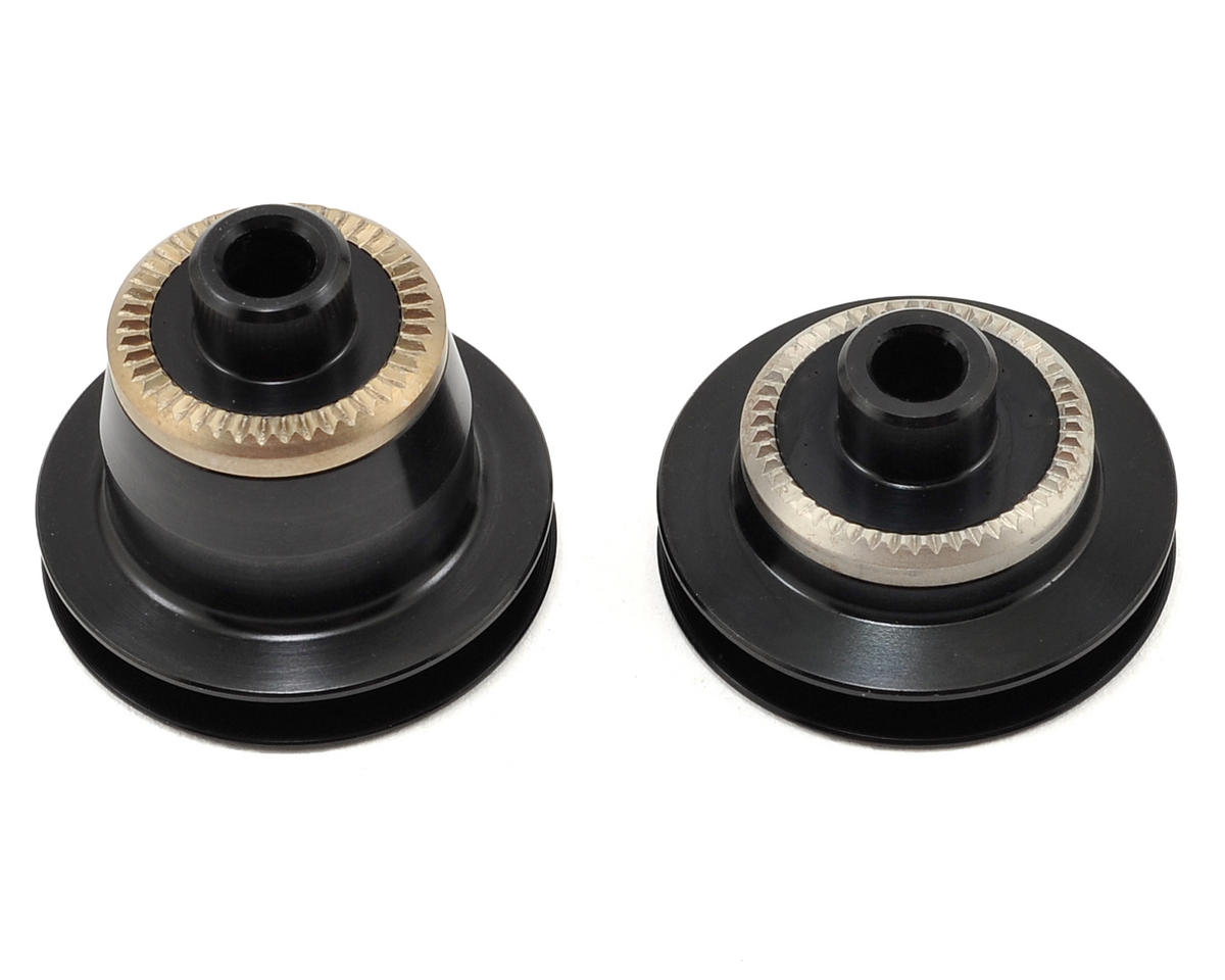 DT Swiss 15mm Thru Axle To 5mm Quick Release Conversion End Caps For 240 Hubs