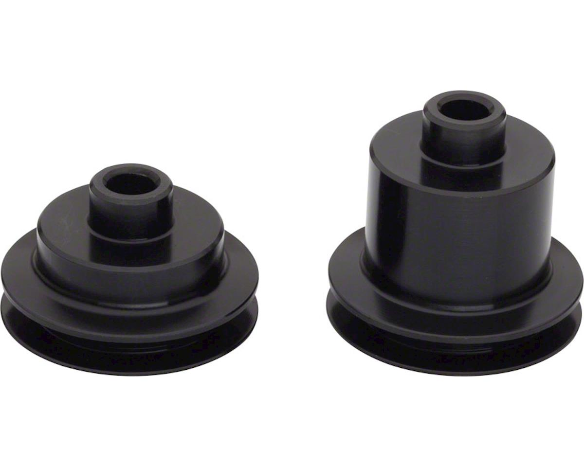 DT Swiss 5mm QR End Caps for 2015+ black 180 Hubs