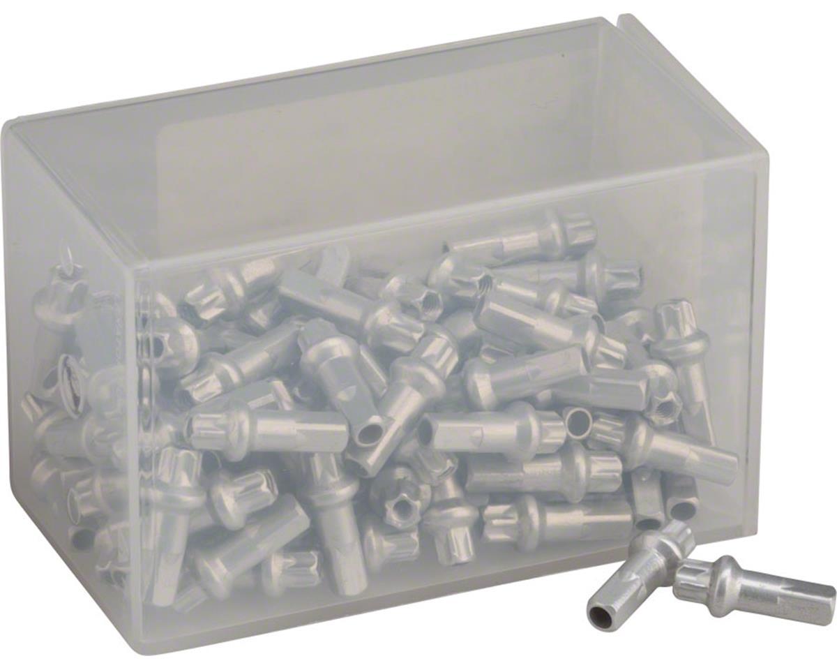 Squorx Pro Head 2.0 x 15mm Silver Alloy Nipple, Box of 100