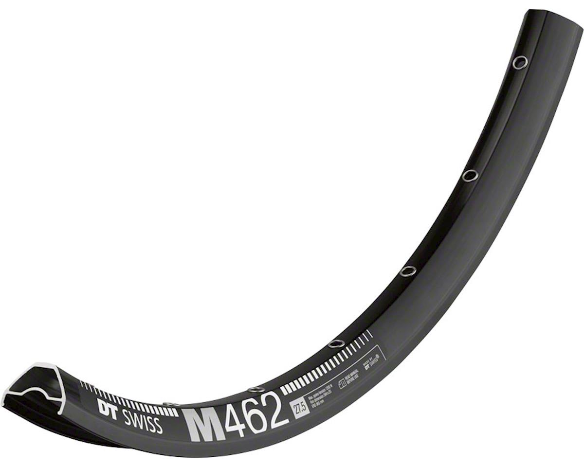 "DT Swiss M 462 28 Hole Tubeless Ready Disc Rim (Black) (27.5"")"