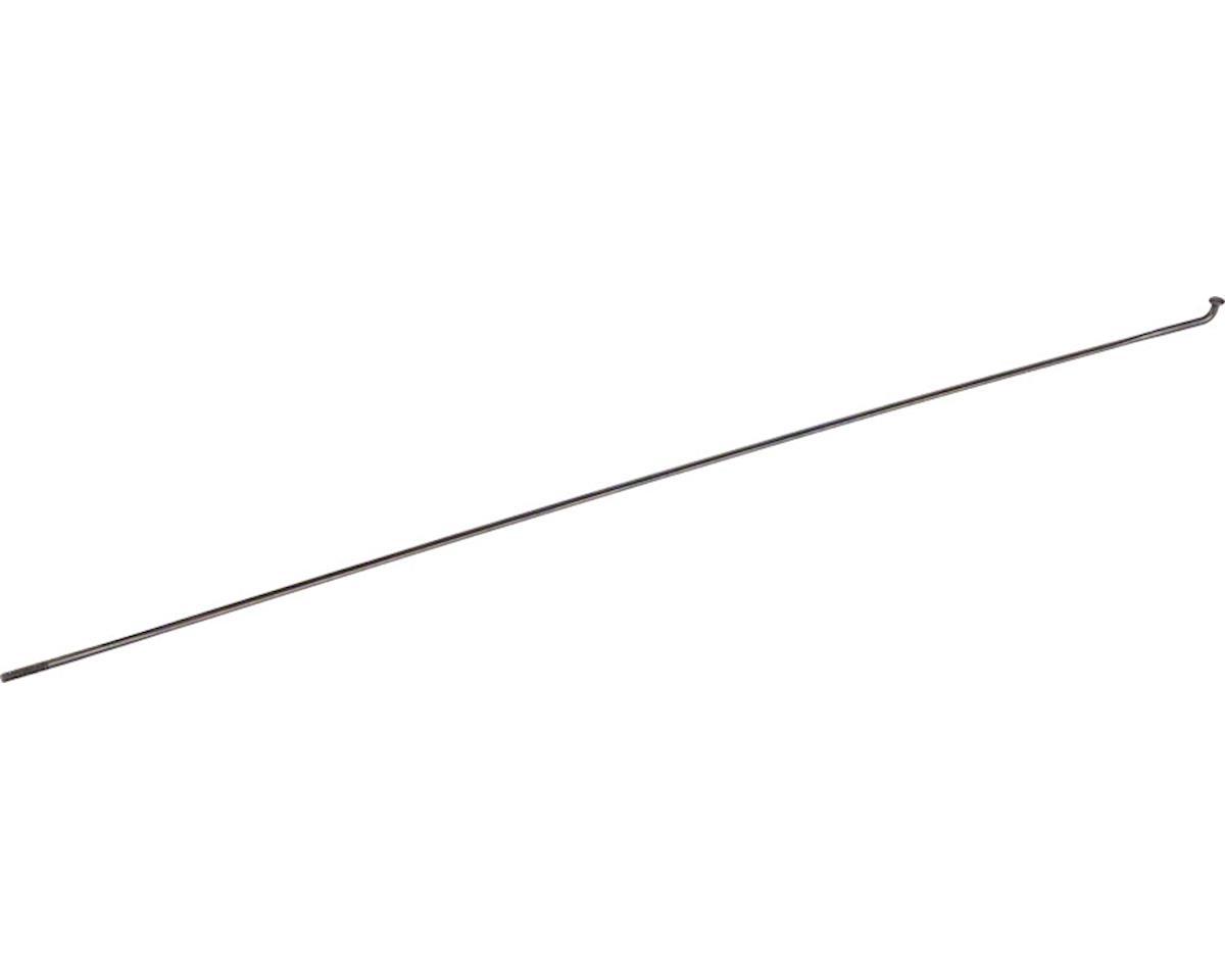DT Swiss Aerolite Spoke: 2.0mm, Bladed, 232mm, J-bend, Black, Each