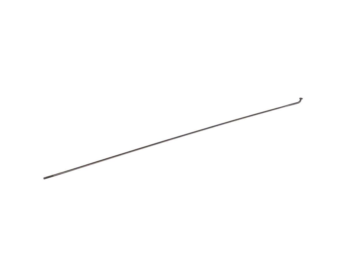 DT Swiss Aerolite Spoke: 2.0mm, Bladed, 268mm, J-bend, Black, Each