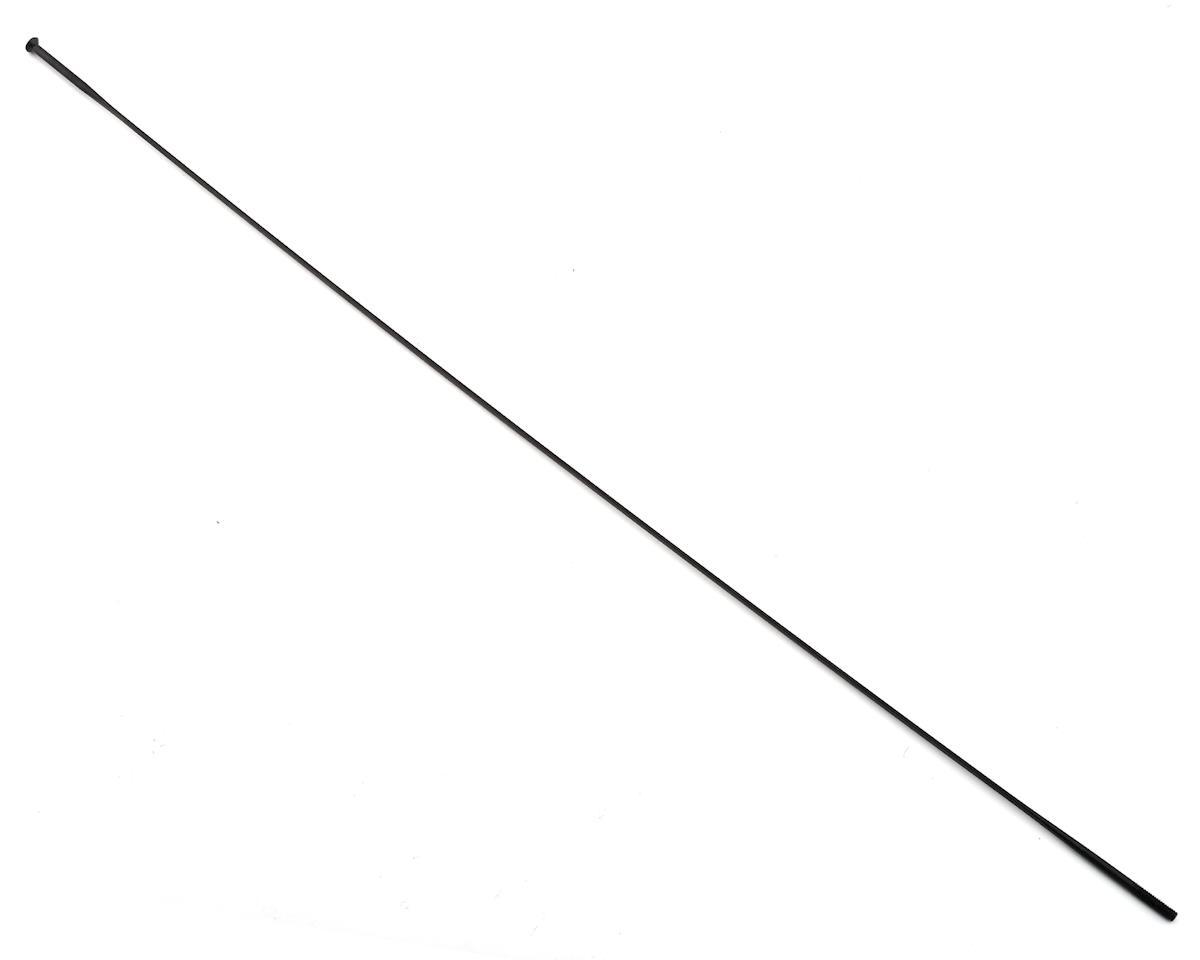 Aerolite Bladed Straight Pull Spoke (2.0x298mm) (Black)