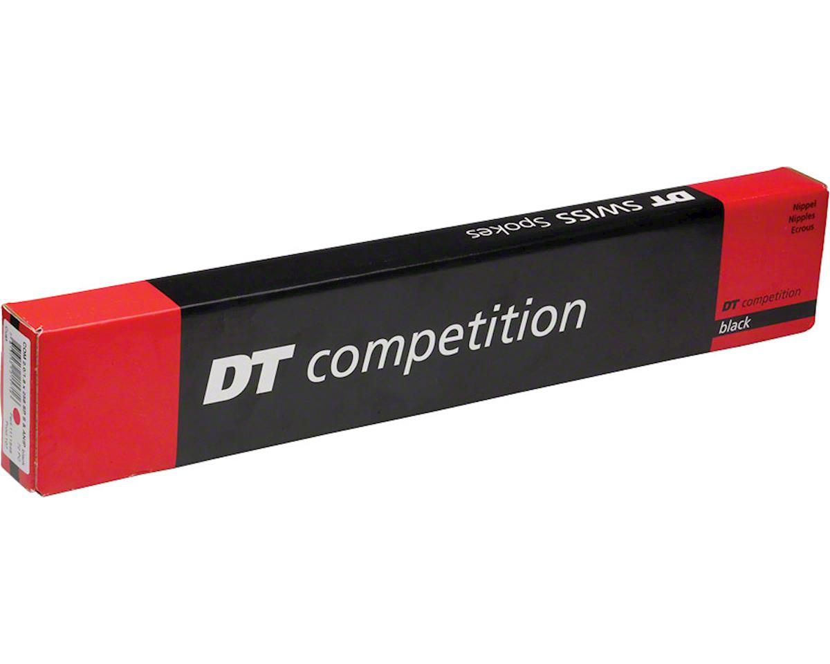 DT Swiss Competition Straight-Pull 254Mm Black Spokes 2.0/1.8