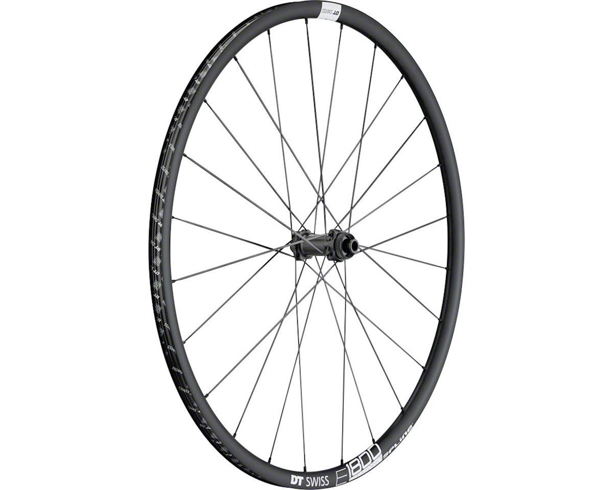 E1800 db23 Spline Front Wheel: 700c, 12x100mm, Centerlock Disc