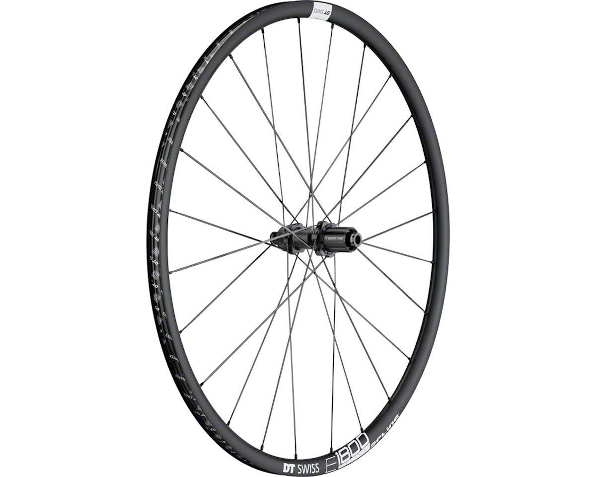E1800 db23 Spline Rear Wheel: 700c, 12x142mm, Centerlock Disc