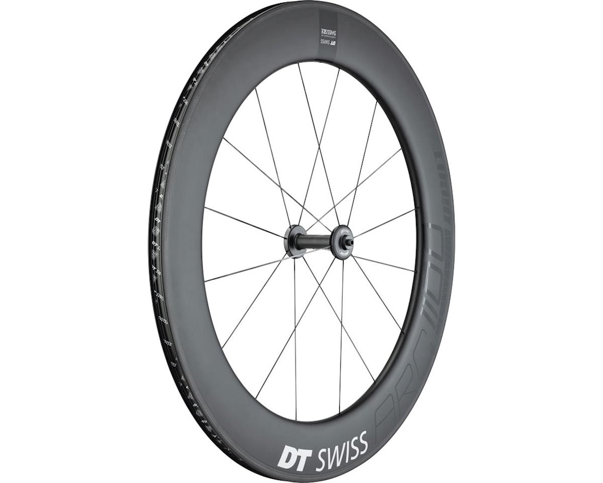 DT Swiss ARC 1100 DiCut 80 Front Wheel - 700, QR x 100mm, Rim Brake, Black