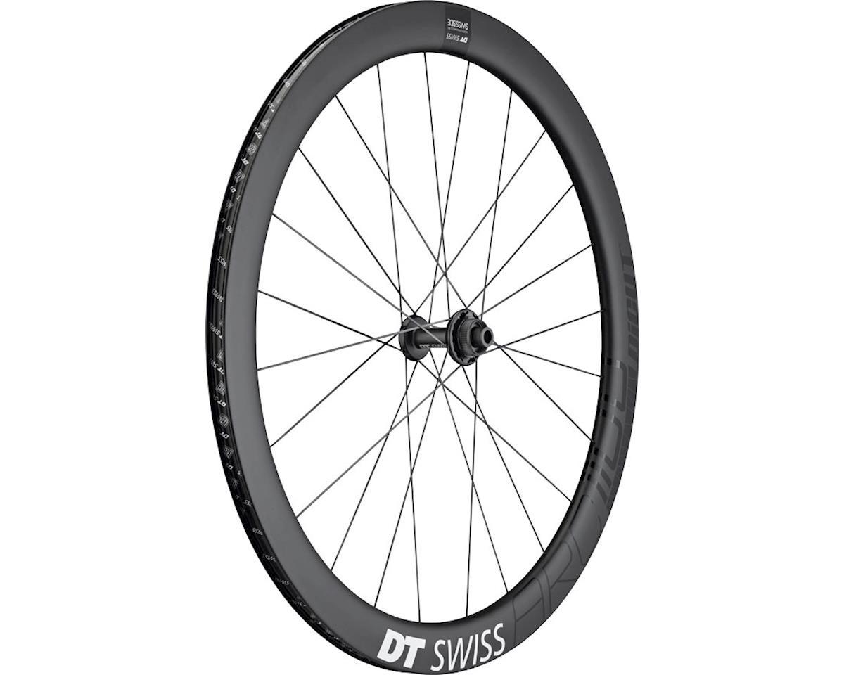 DT Swiss ARC 1100 DiCut 48 Front Wheel - 700, 12/QR x 100mm, 6-Bolt /Center-Lock