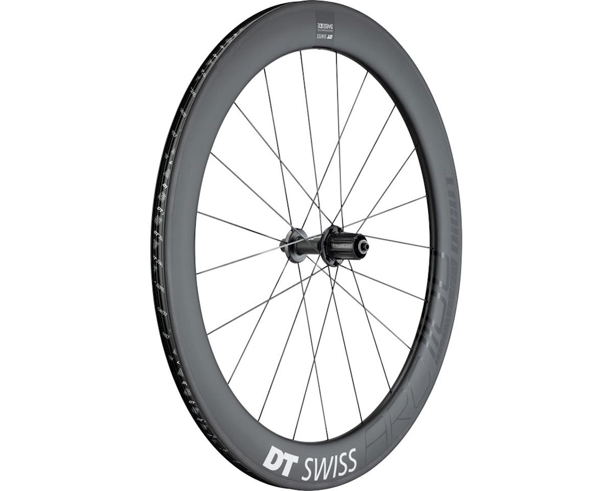 DT Swiss ARC 1100 DiCut 62 Rear Wheel - 700, QR x 130mm, Rim Brake, HG 11, Black