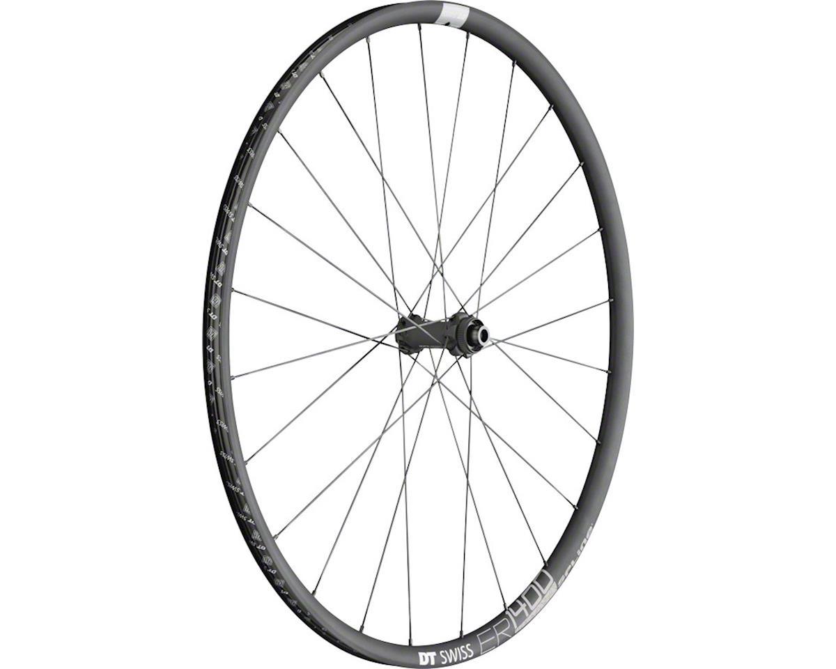 DT Swiss ER1400 db21 Spline Front Wheel: 700c, 12x100mm, Centerlock Disc