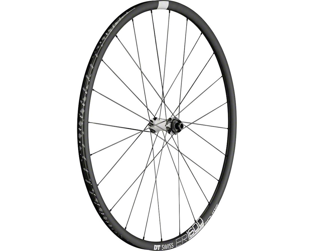 DT Swiss ER1600 db23 Spline Front Wheel: 700c, 12x100mm, Centerlock Disc
