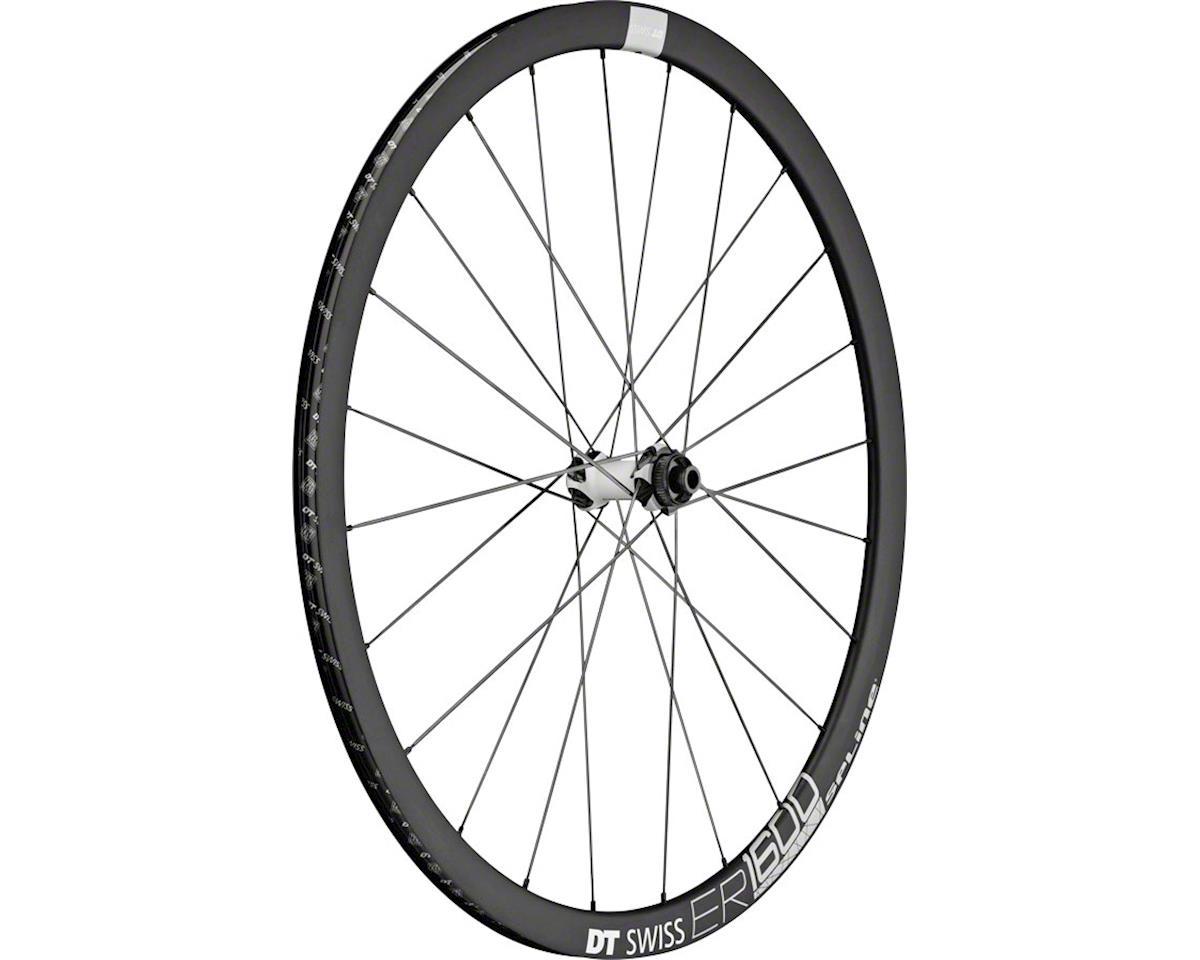 DT Swiss ER1600 db32 Spline Front Wheel: 700c, 12x100mm, Centerlock Disc