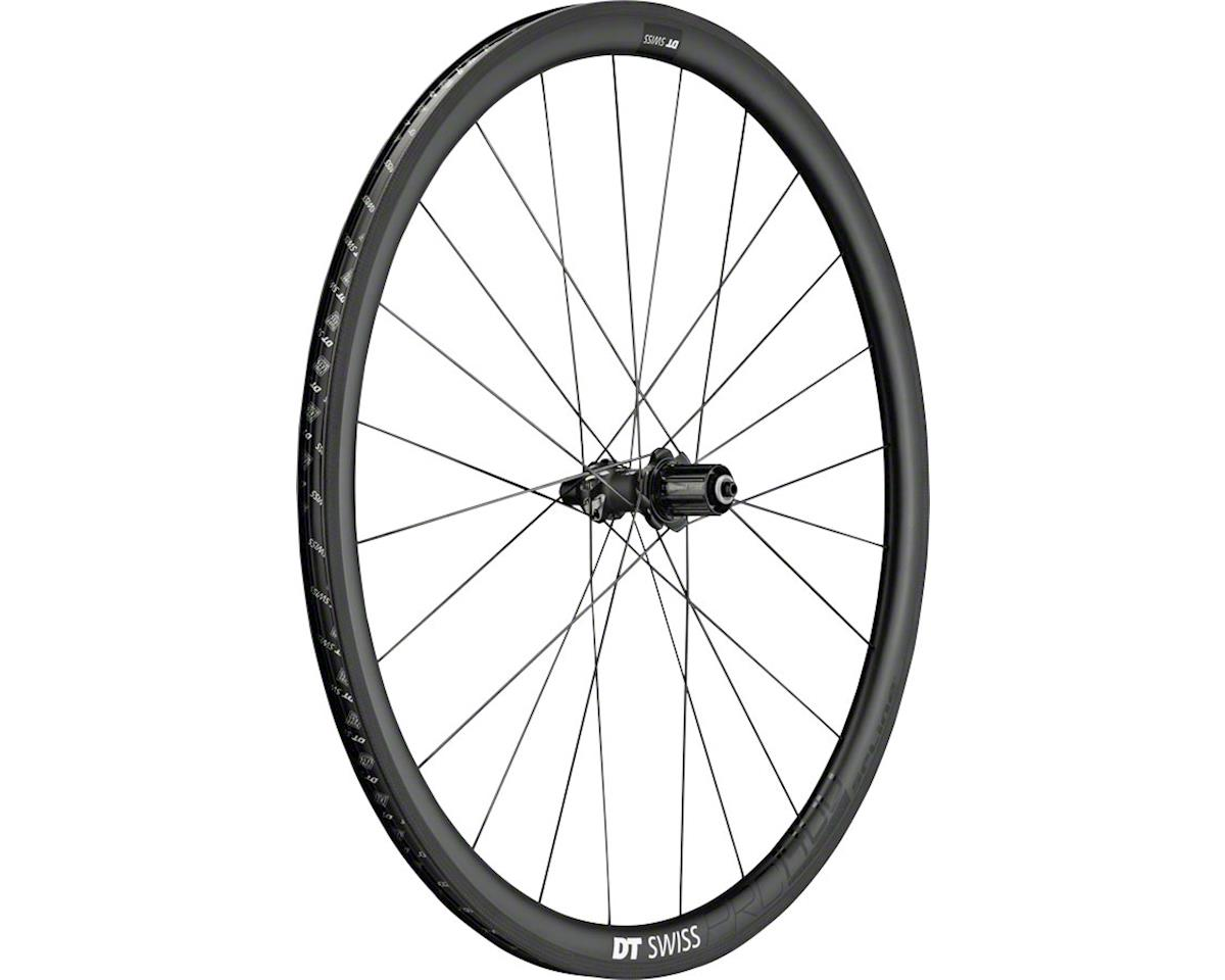 DT Swiss PRC 1400 Spline Rear Wheel - 700, QR x 130mm, Rim Brake, HG 11, Black