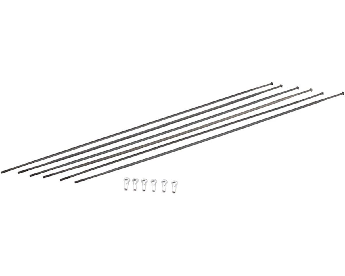 DT Swiss ARC 1100 DiCut DB 48 Spoke Kit: Front and Rear, Black