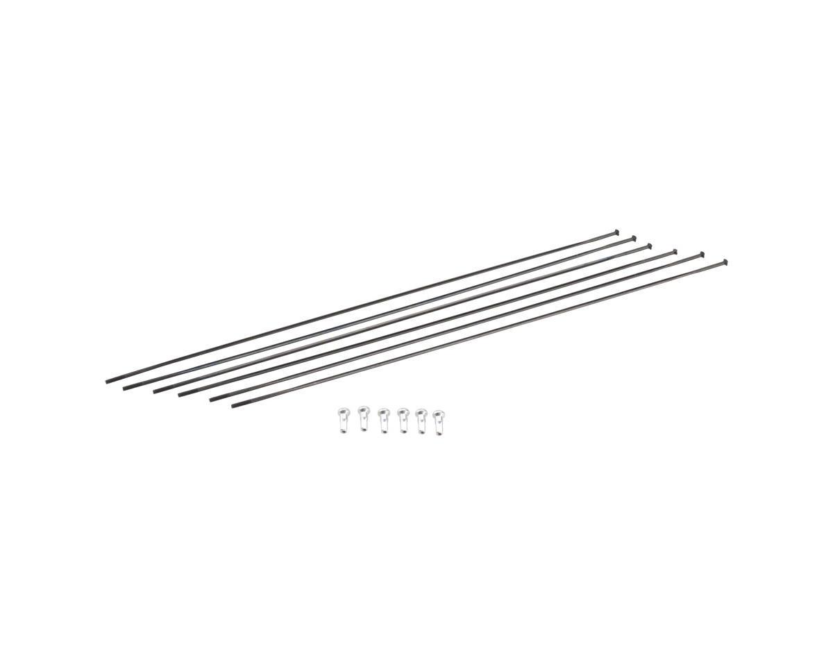 DT Swiss ER1400 DiCut 21 DB Spoke Kit (Black) (Front & Rear)