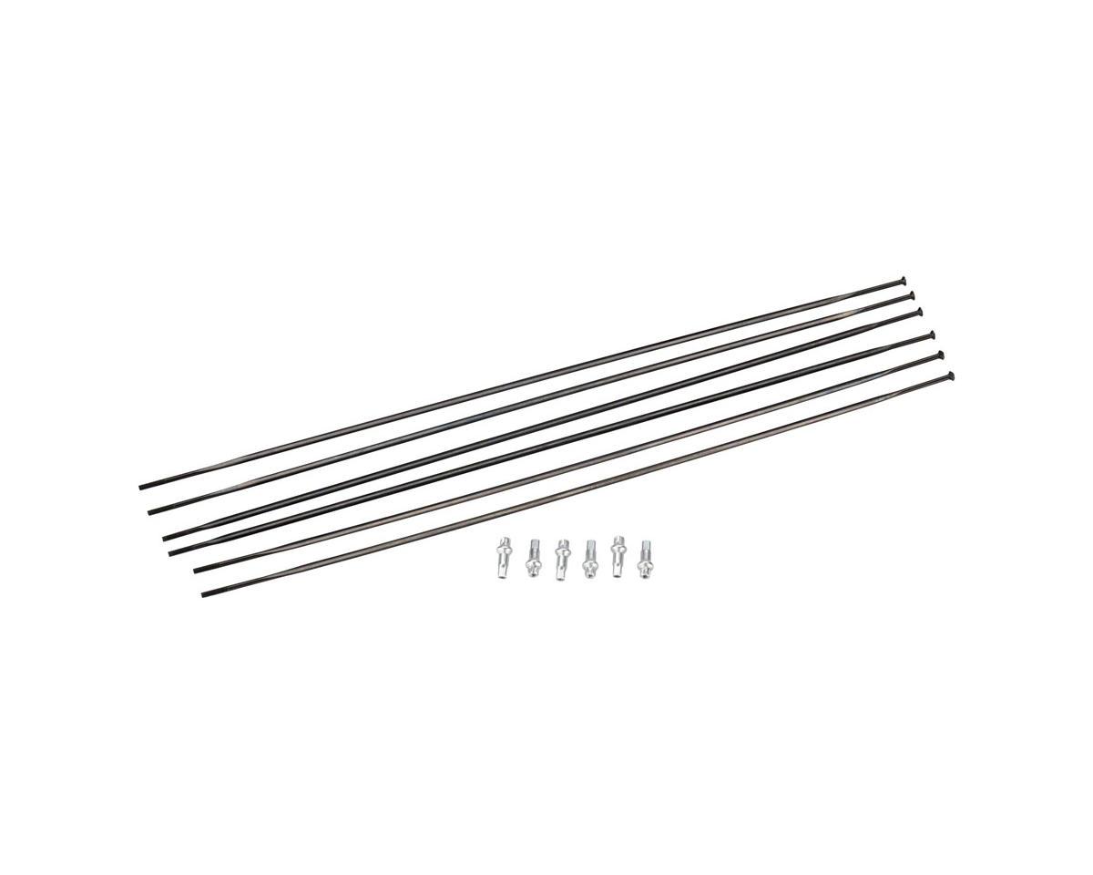 DT Swiss PR1600 DiCut 21 RB Spoke Kit (Black) (Front & Rear)