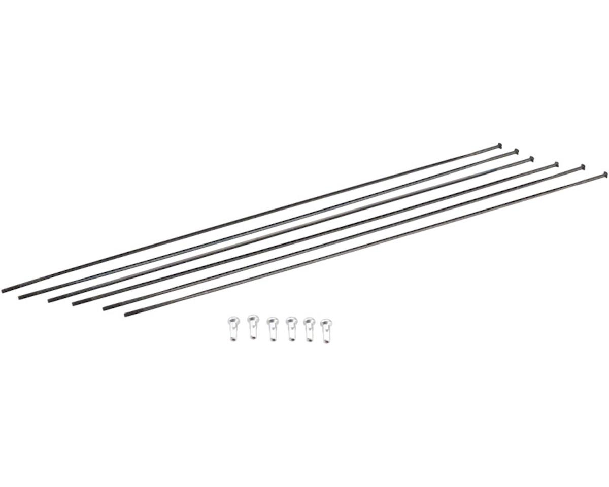 DT Swiss PRC1100 Mon Chasseral DiCut 35 RB Spoke Kit (Black) (Front & Rear)