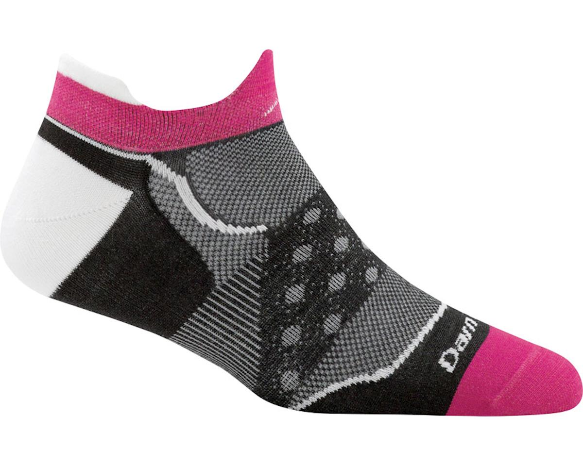 Darn Tough Vermont Dot No Show Ultra Light Women's Sock (Black) (L)