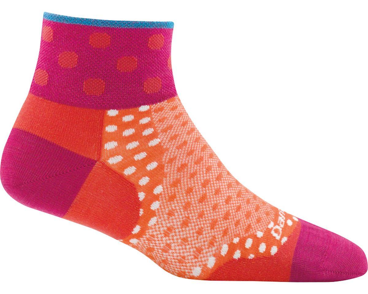 Darn Tough Vermont Dot 1/4 Ultra Light Women's Sock (Coral) (M)