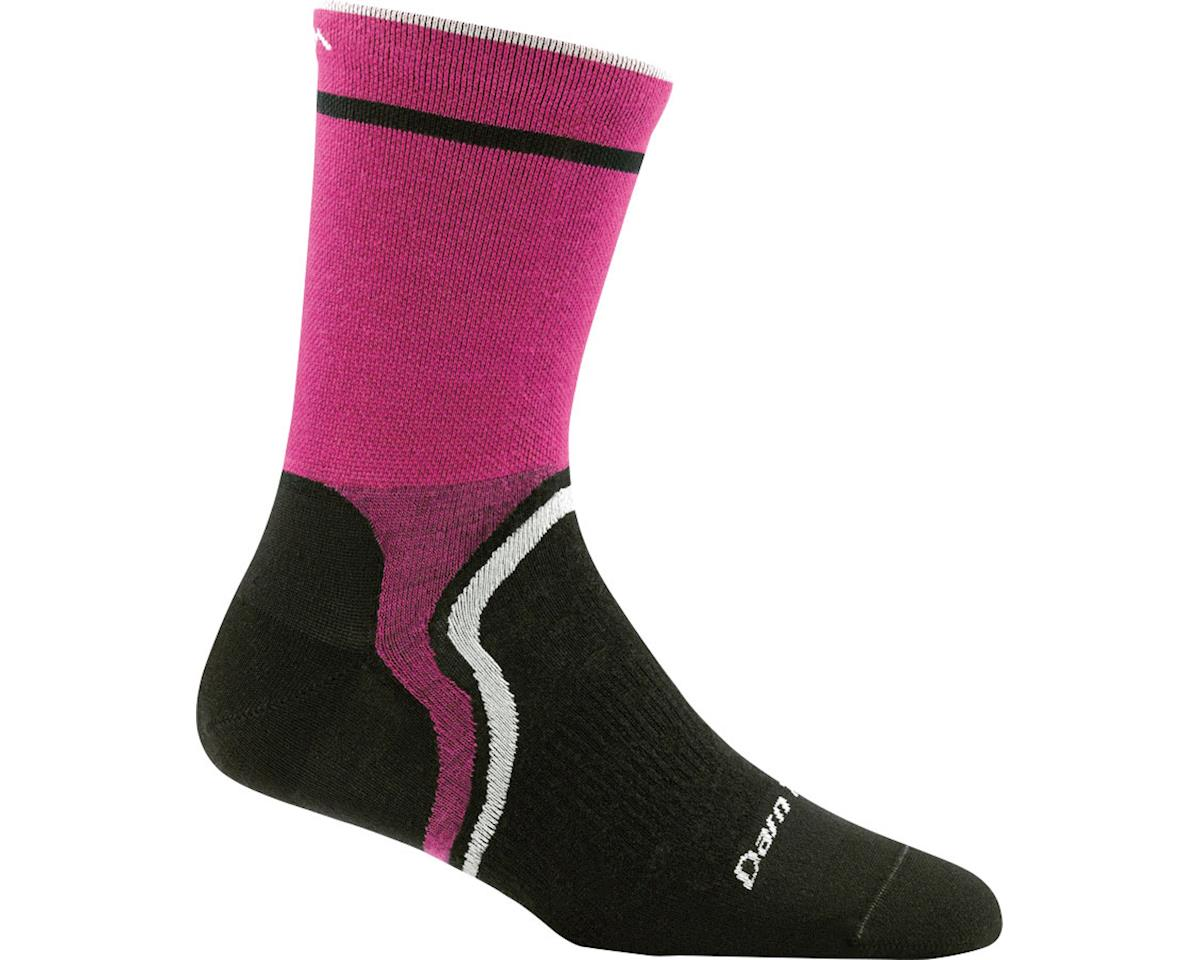Darn Tough Vermont Cool Curves Micro Crew Ultra Light Women's Sock (Pink) (L)