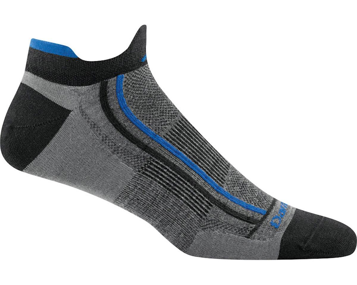 Darn Tough Vermont Racer Mini Tab Ultra Light Men's Sock (Grey) (L)
