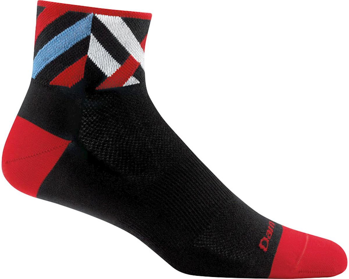 Darn Tough Graphic 1/4 Ultra Light Men's Sock (Black)